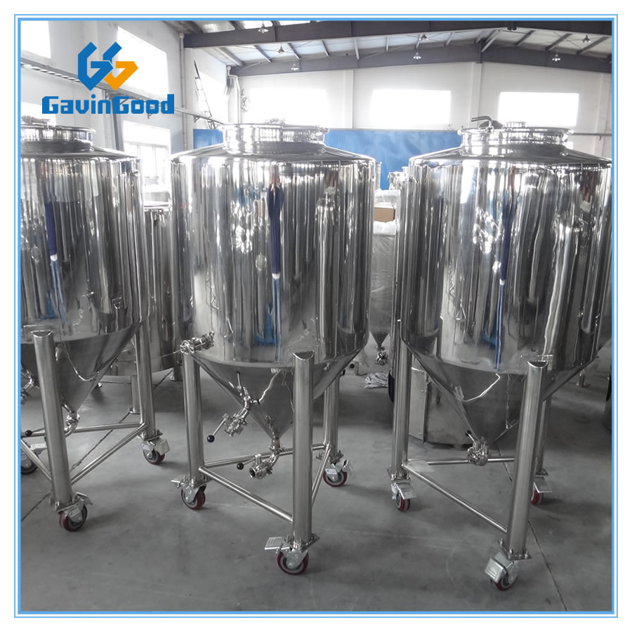 Fermenter With Casters